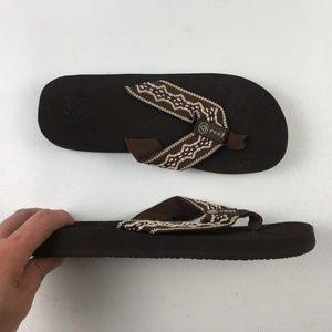 Reef Brown Thong Sandals H4613832